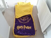 Harry Potter Hogwarts blow up bed/sleeping bag