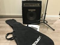 Behringer Bass Amp 90W BLX900A Bag and Stand