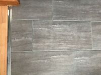 New 19 grey porcelain floor/wall tiles