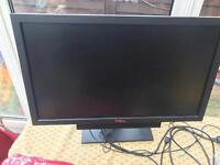"Dell U2711b ultra sharp 27"" monitor with sound bar superb condition very very little use"