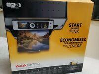 Brand new,Kodak ESP 7250 All-In-One Inkjet Printer, Scanner, Copier