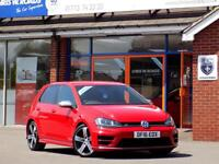 VOLKSWAGEN GOLF 2.0 R DSG 5dr AUTO (300) ** Stunning DSG with Low Miles ** (red) 2016