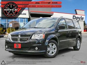 2016 Dodge Grand Caravan CREW W/HEATED LEATHER & POWER ENTRY!!!