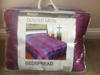 Quilted Bedspread for double bed - BRAND NEW