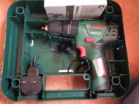 New Bosch 12v compact hammer drill, with charger and hard case - £45 ovno