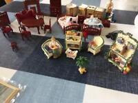 Collectible dolls house furniture