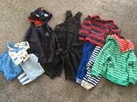 Bundle of 9-12 month boys clothes