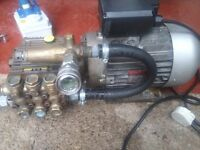 Pressure washer interpump