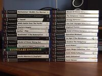 Job Lot of Playstation 2 Games + 1 PC Game