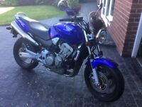 Honda Hornet 900. Excellent condition. Small screen. Only 3,600 dry miles . Sole owner from new
