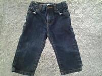 BOYS SIZE 1 DARK WASH JOE FRESH JEANS - LOOK NEVER WORN