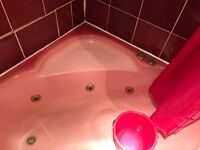 bathroom suite Pink