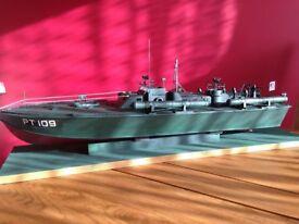 Radio Controlled PT109 Boat