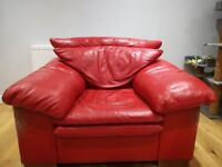 Free sofa, chair and footstool