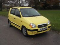 2002 HYUNDAI AMICA 1.0, MOT JUNE 2018, FSH, ONLY 64,000 MILES, NO ADVISORIES, ONLY £495