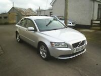 08 VOLVO S40 SD 4DOOR SALOON (DIESEL) GOOD CONDITION, *MOT TO OCT 2018*