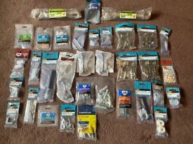 34 x Small packs of DIY/Builders Assorted handy items (All New)