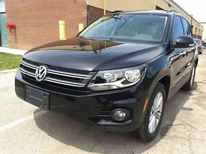 2012 VOLKSWAGEN TIGUAN COMFORTLINE ONLY 40K PANORAMIC SUNROOF