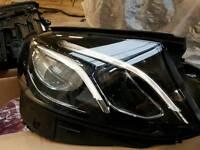 Mercedes e class headlights