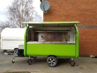 Mobile Catering Trailer Burger Van Pizza Trailer Food Cart 3000x1650x2300