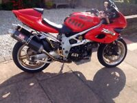 Suzuki tl1000s '97 full power, every conceivable upgrade done