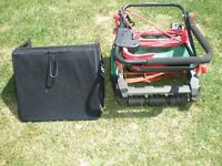 Qualcast Lawn Mower Fold Down Rotary