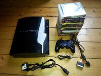Sony Playstation 3 + 14 games