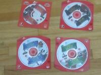 Reflections of Olympic Gold - Set of 4 DVDs NEW