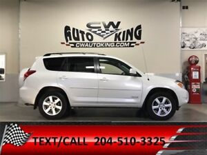 2008 Toyota RAV4 Limited / Leather / Sunroof / All Wheel