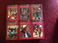 Marvel hardback books 55 different titles