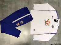 Chelsea Manchester psg Barcelona Real Madrid tracksuits