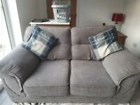 Gray / Silver sofa and two chairs .... non smoking house hand made