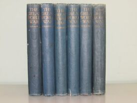The Great War A History by Frank Mumby (6 Volumes)