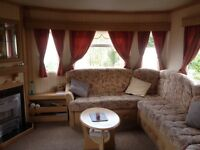 ABI Brisbane 34x12 2 bedroom static caravan with wooden decking with lovely country views