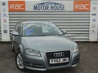 Audi A3 TDI SE (£20.00 ROAD TAX) FREE MOT'S AS LONG AS YOU OWN THE CAR!!! (grey) 2012