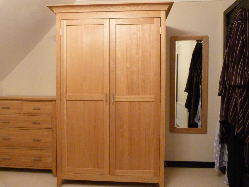 Solid Oak Wardrobe In Inverness Highland Gumtree