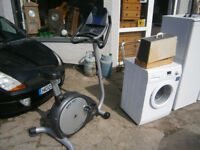 HORIZAN FITNESS EXERCISE BIKE WITH POLAR MONITOR IN YEOVIL