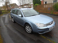 FORD MONDEO LX TDCI ESTATE 07 PLATE 2007 MOT OCT 2017