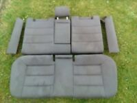 AUDI A6 C5 ESTATE GRAY CLOTH SEATS/DOOR CARDS