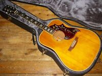 Gibson Hummingbird Custom 1971 dreadnought acoustic with undersaddle pickup