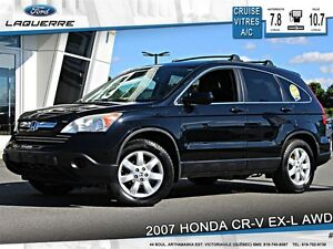 2007 Honda CR-V **EX-L*AWD*CUIR*TOIT*CRUISE*A/C**