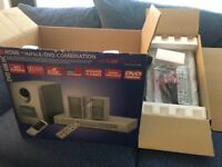 Unused CIATronic DVD player and home cinema system