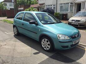 2003 Vauxhall corsa life 1.0l....12 months mot