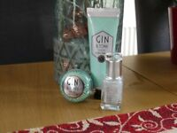 Gin & Tonic hand/nail/lips Christmas set x2