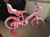 "16"" Halfords hello kitty bike"