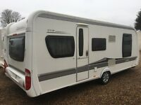 Hobby Caravan 575 Vip Collection (2010) Island Bed. RE-LISTED DUE TO TIME WASTER! Like Fendt/Tabbert