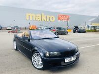 BMW 325ci M sport convertible leather fully loaded bargain px swap wel drive away