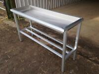 Stainless Steel sausage table