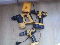 Dewalt hammer drill 18v.