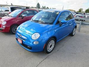 2015 Fiat 500 Pop - 1.4L  FWD  Keyless Entry  Low Kms